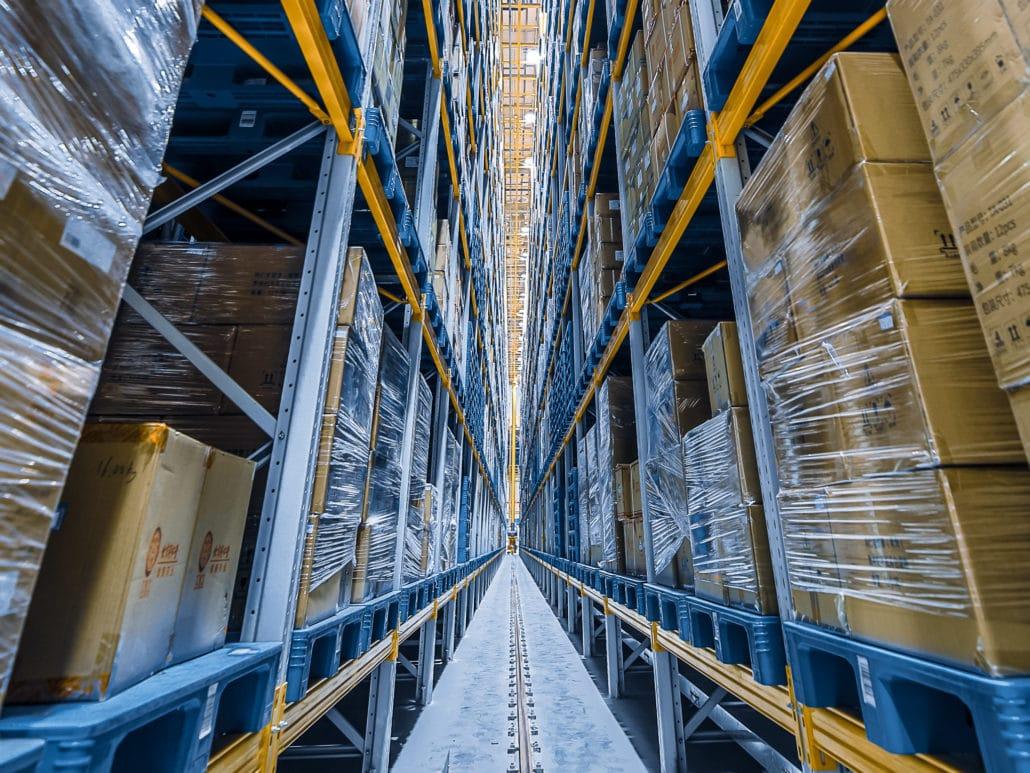 automatisiertes Lager, Logistik, EWM