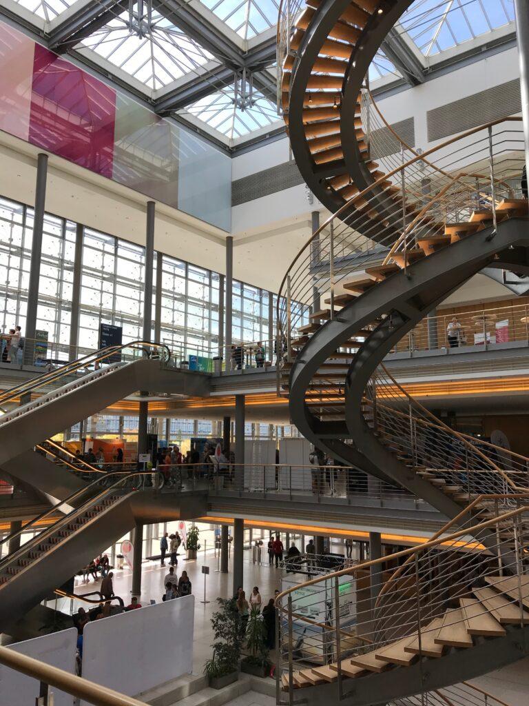 Intecio auf der Jobmesse Leipzig - Ausstellungsraum