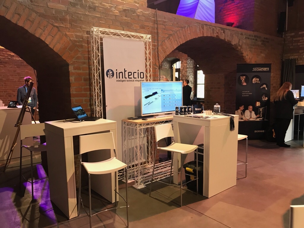 Messestand INTECIO